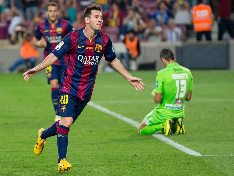 Messi ya es el máximo goleador histórico de LaLiga