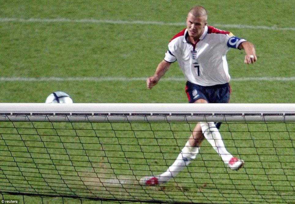 peores penaltis de la historia Beckham