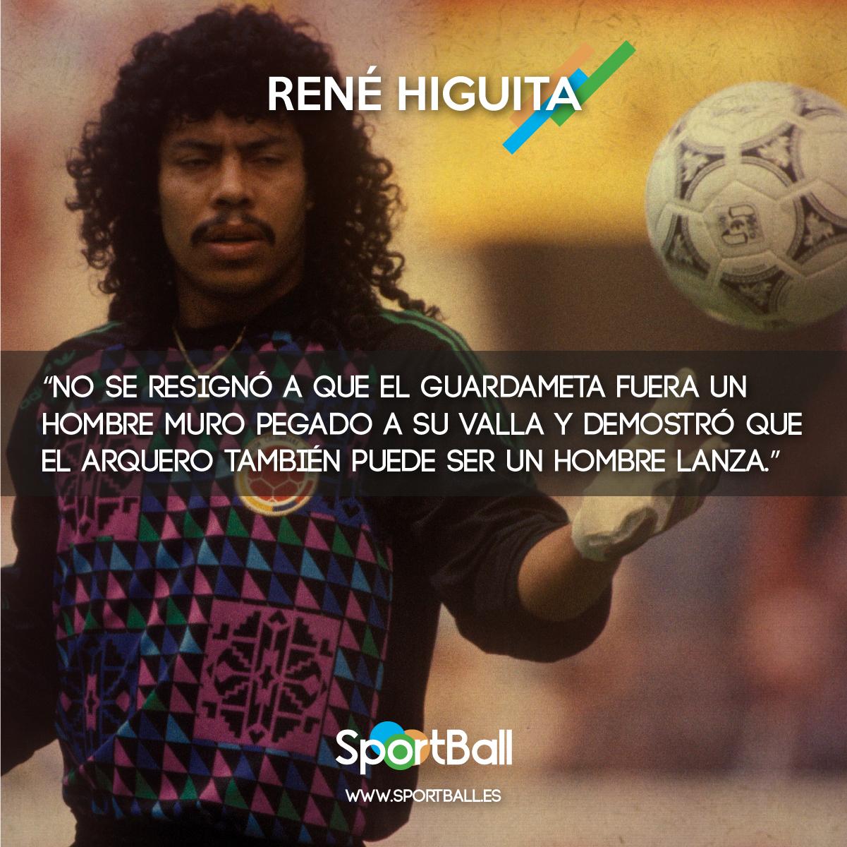 Así describió Eduardo Galeano a René Higuita.