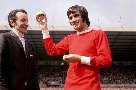 1968 fue el gran año de un George Best que logró la Copa de Europa y el Balón de Oro.