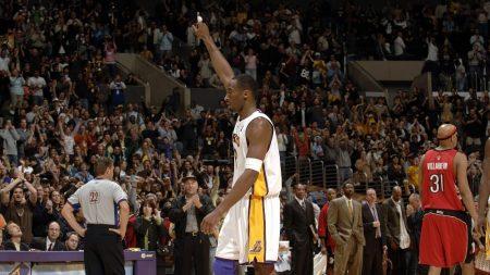 Kobe Bryant, 81 puntos ante los Raptors (2006)