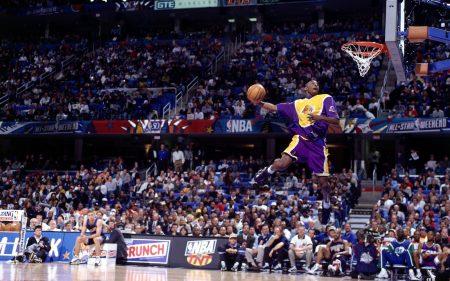 Kobe Bryant, campeón del concurso de mates (1997)