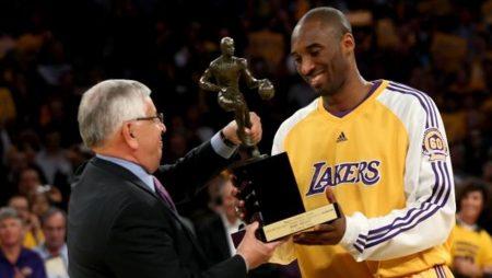 Kobe Bryant, MVP de la temporada por primera vez (2008)