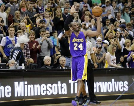 Kobe Bryant batiendo récords (2014)