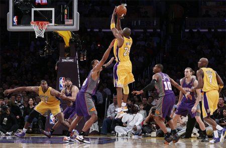 Kobe Bryant sobre la bocina ante los Suns (2007)