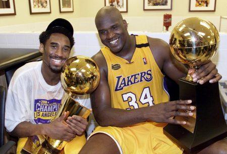 Primer anillo de Kobe y Shaq (2000)