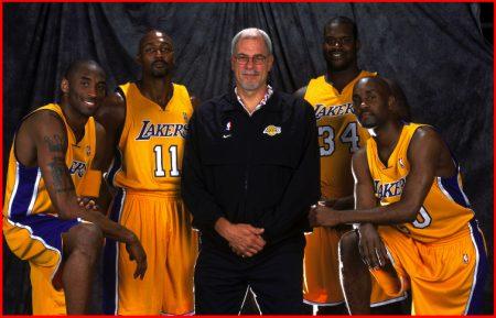 El quinteto de ensueño de los Lakers (2004)