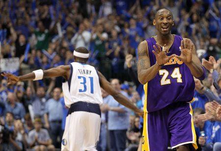 Kobe Bryant en la derrota ante Dallas Mavericks en Playoffs (2011)