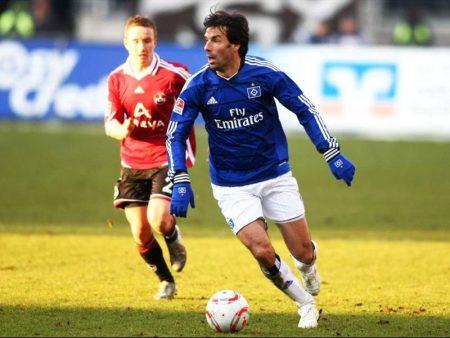 En el Hamburgo, Van Nistelrooy consiguió volver a la selección holandesa