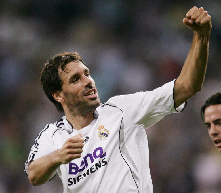 """""""Van Gol"""", el apodo de Van Nistelrooy en Chamartín."""