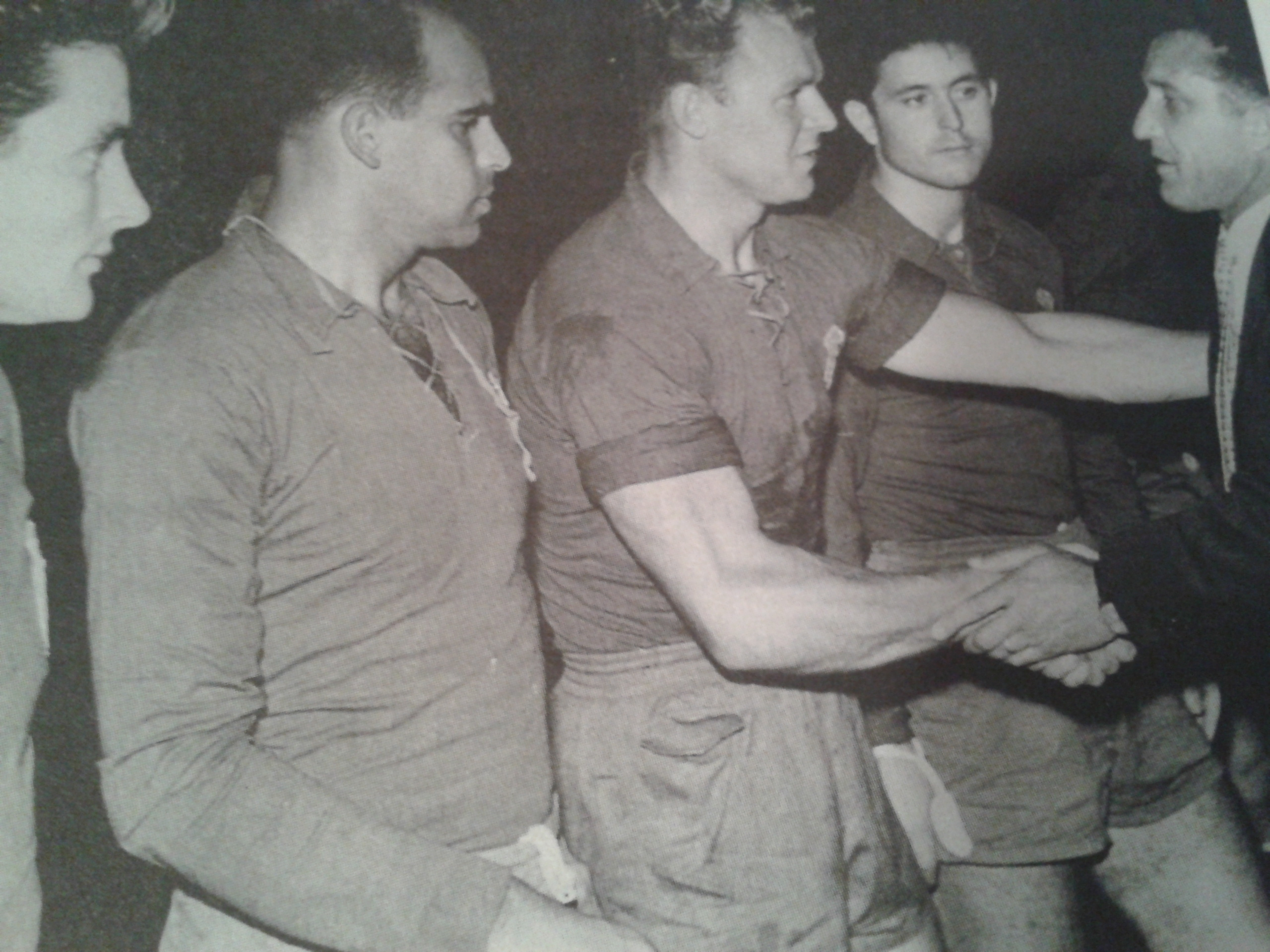 Kubala, líder del equipo.