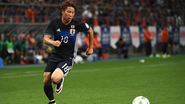 Takuma Asano ya es internacional con Japón.