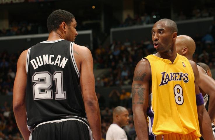 Tim Duncan vs Kobe Bryant, el Ying y el Yang: carreras y retirada