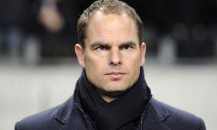 Cambio de rumbo inesperado en el Inter: De Boer coge los mandos