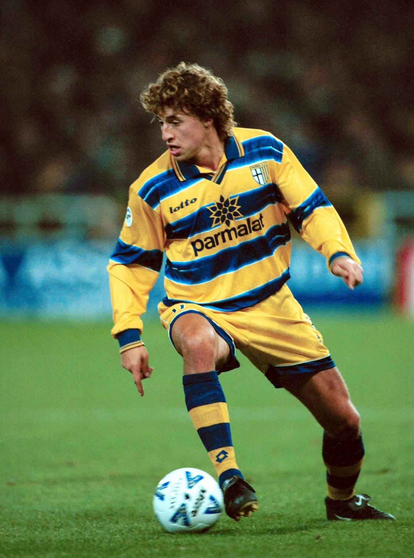 Parma de los 90 contaba Hernán Crespo