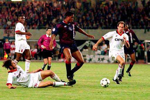 final de la Champions 1995: gol de Patrick Kluivert