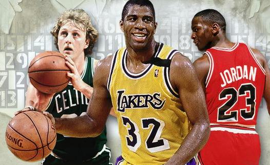 El mejor quinteto de la historia de la NBA