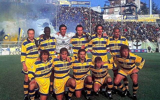 Parma, leyenda de los 90