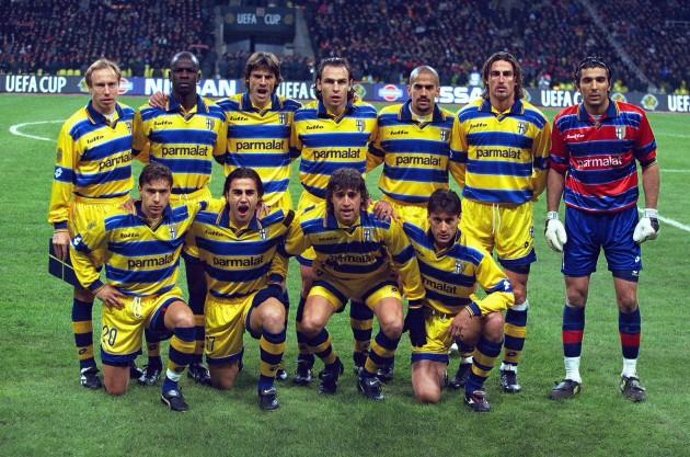 La leyenda del Parma de los 90: final de la UEFA ante el Marsella