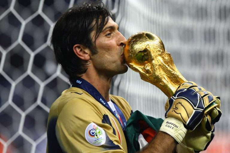Buffon Copa del Mundo