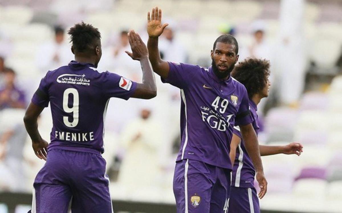 Ryan Babel y el Al-Ain no compaginaron bien.