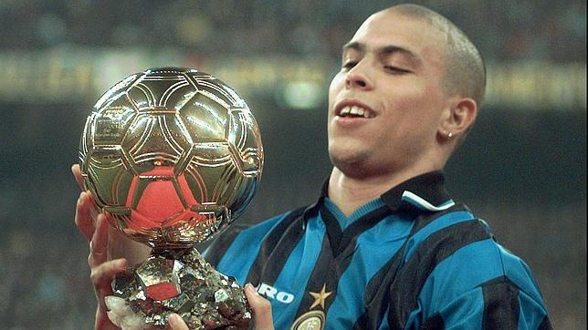 Con tan solo 21 años, Ronaldo Nazario ya había ganado un Balón de Oro