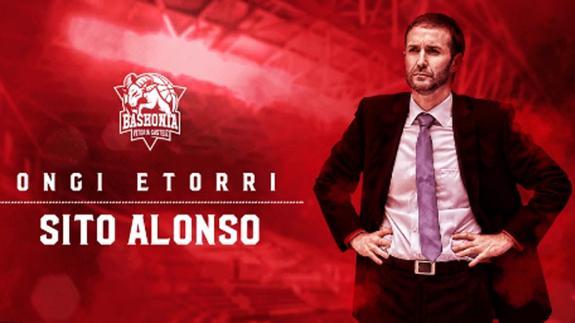 Sito Alonso, buen candidato para reconstruir el Baskonia.