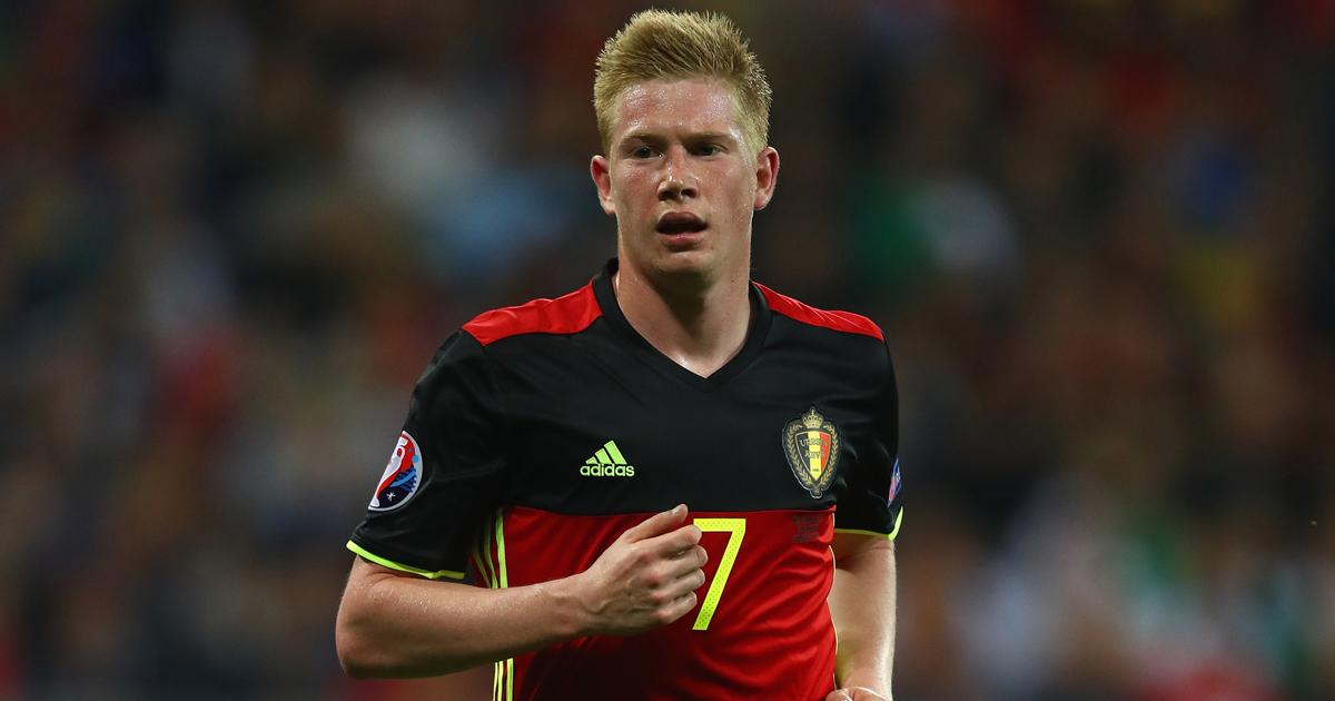 Bélgica de Roberto Martínez. De Bruyne con Bélgica. uefa.com