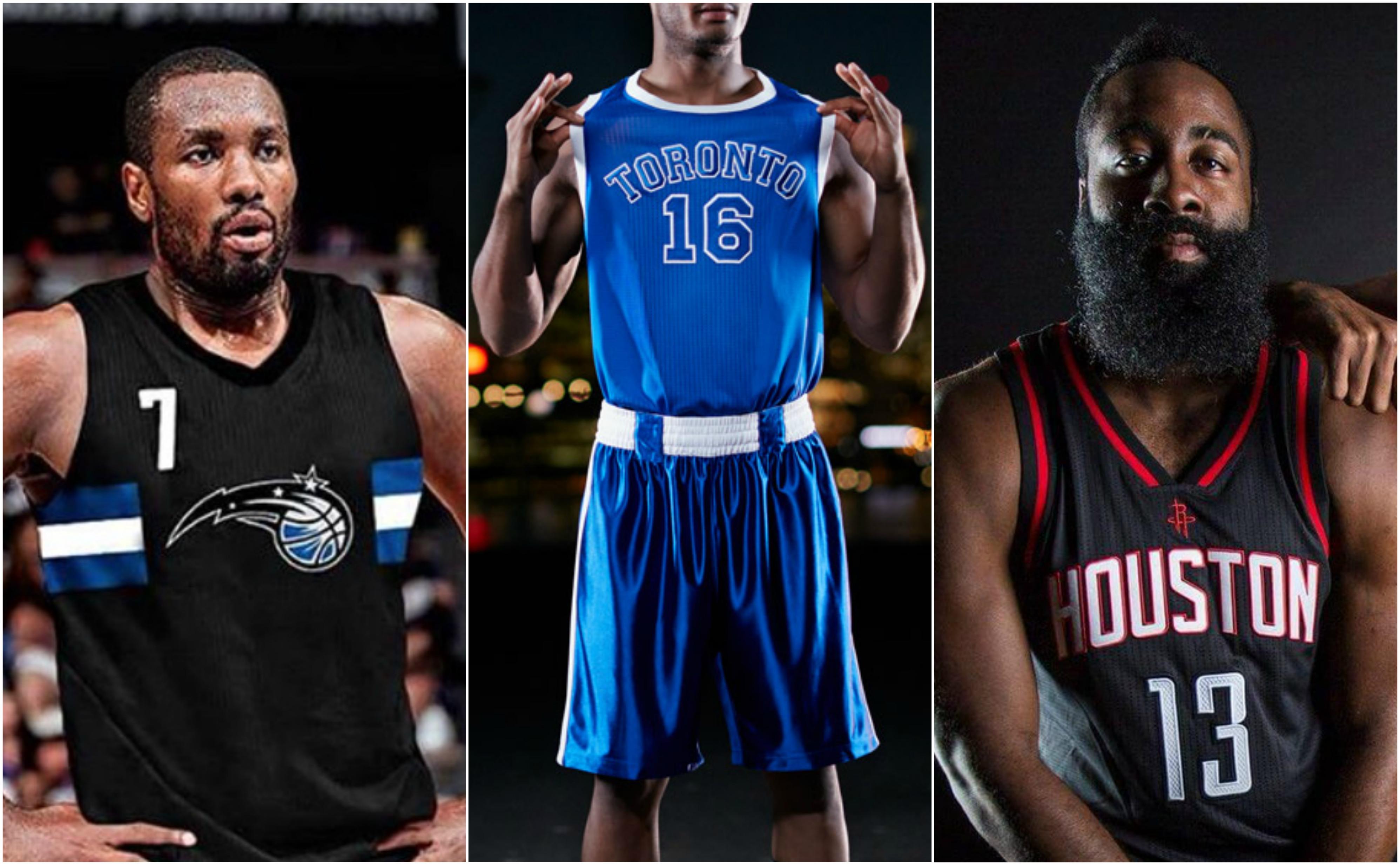 Nuevas equipaciones NBA 2016-17
