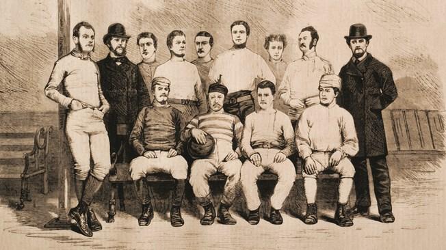 Una de las primeras plantillas del Sheffield Football Club. fifa.com