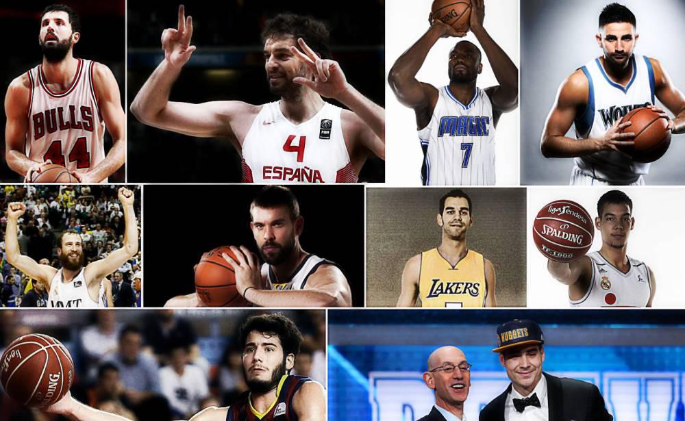 Españoles en la NBA 2016-2017