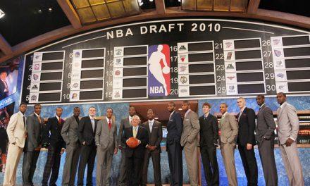 NBA draft 2010, aprobados y suspensos