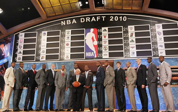 NBA draft 2010, aprobados y suspensos