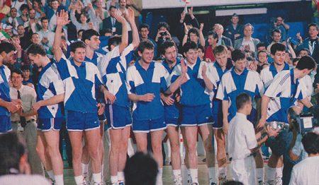 Yugoslavia, campeona del mundo en 1990.