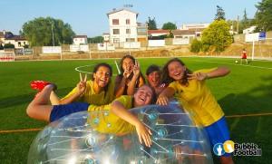 Fútbol burbuja, el fútbol más divertido