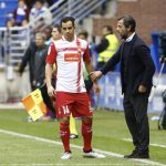 Jurado (Espanyol) se ha convertido en un fijo en los onces de Quique Sánchez Flores.