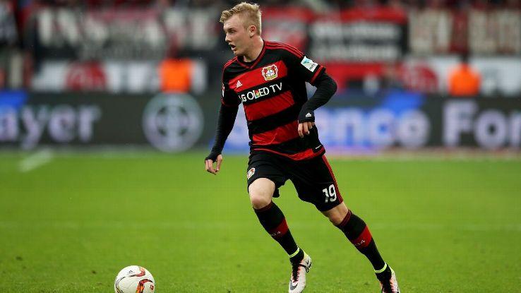 Cómo juega Julian Brandt, una de las mayores promesas alemanas.