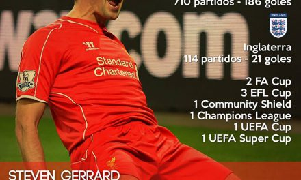 Steven Gerrard: Incansable Red