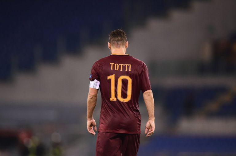 Totti es uno de los mejores jugadores retirados en los últimos años.