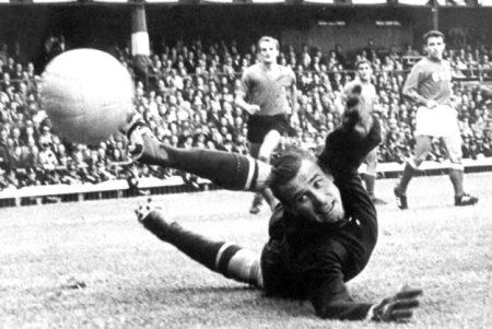 Ley Yashin, mejor jugador de la Eurocopa 1960