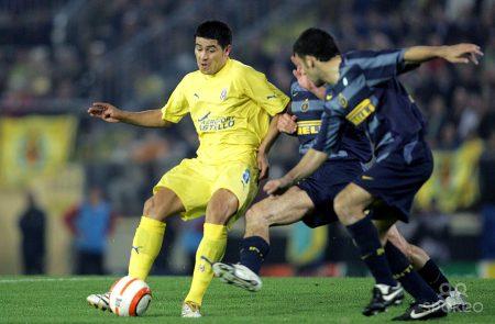 Román Riquelme fue el referente de un Villarreal de Champions