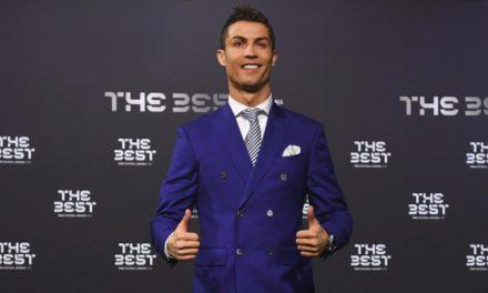 """La FIFA nombra a Cristiano """"The Best"""""""