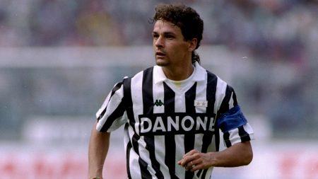 Roberto Baggio en su paso por la Juve