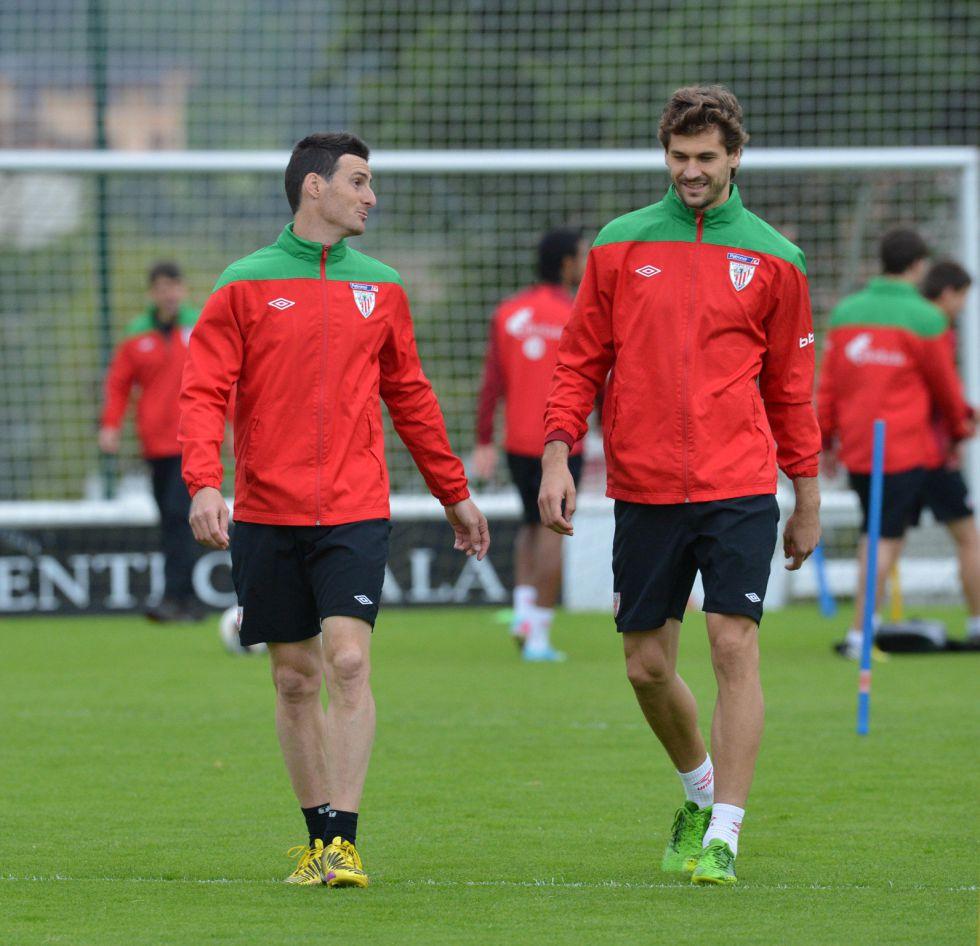 Fernando Llorente y Aritz Aduriz en el Athletic de Bilbao