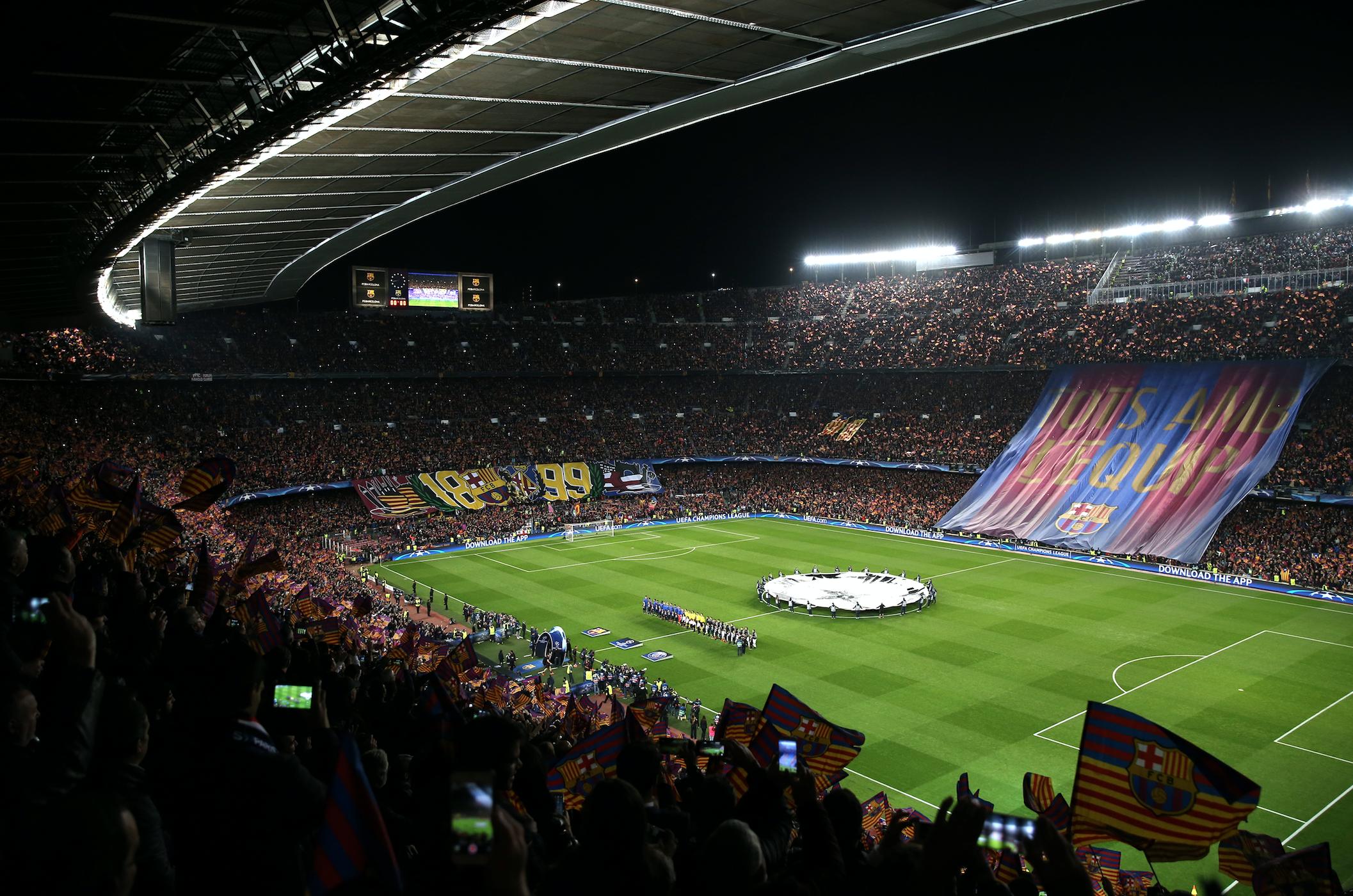 El Barça no lo hubiera conseguido sin la pasión de todo el Camp Nou que empujó al equipo hasta el final. histórica remontada del Barcelona