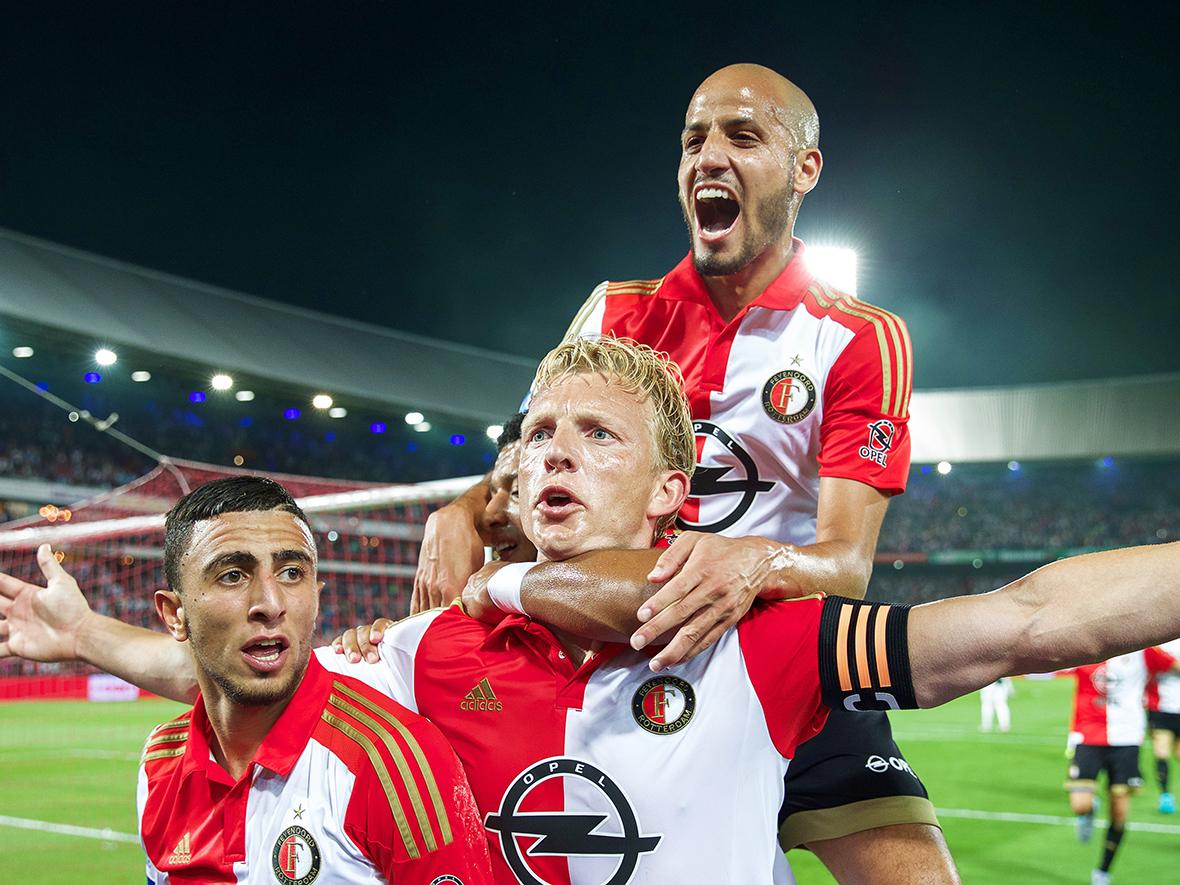 Feyenoord celebrando