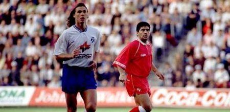Fernando Redondo se dio a conocer al mundo en un inolvidable Tenerife, con Valdano.
