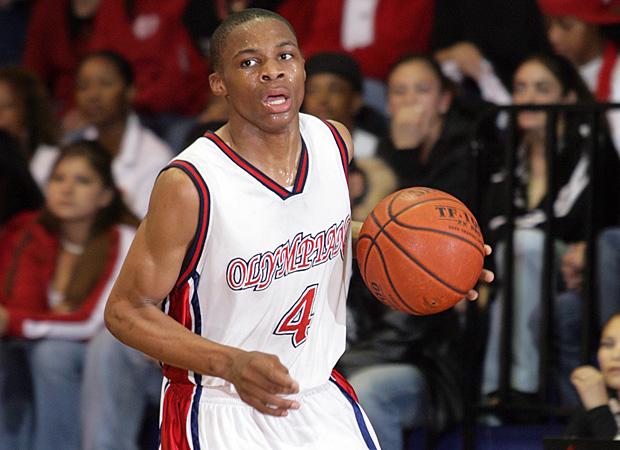 Russell Westbrook en High School