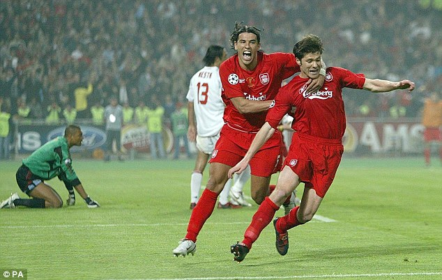 Xabi Alonso final Champions Liverpool
