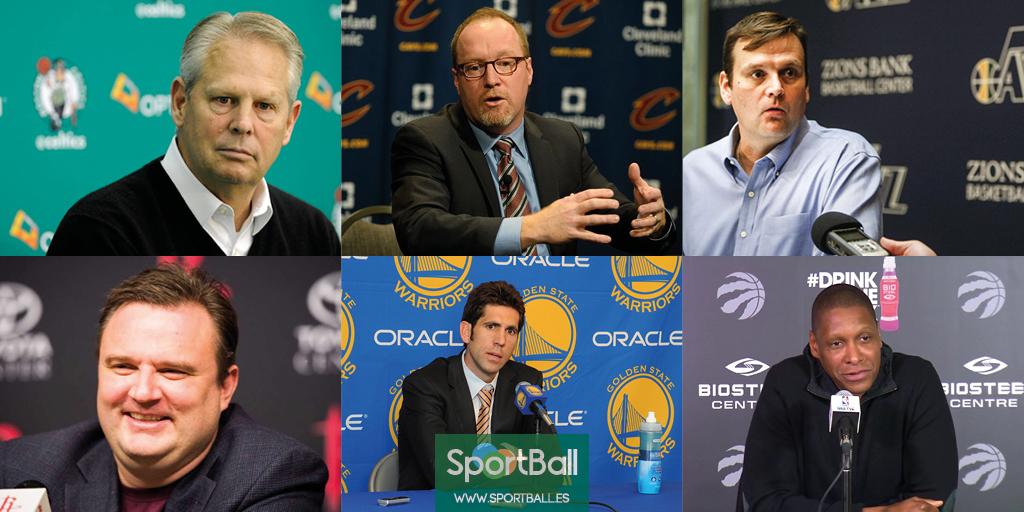 Premios individuales NBA: los candidatos a ejecutivo del año.